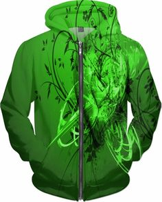 Lucky Brand Dubstep Trance Mix Custom Rave Revolution Style Zip Hoodie by Willy Badu.