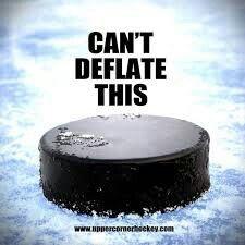 You can't deflate a hockey puck. Why Hockey is the Best Game EVER! Hockey Baby, Hockey Puck, Hockey Girls, Hockey Teams, Hockey Players, Hockey Stuff, Pens Hockey, Sports Teams, Rangers Hockey