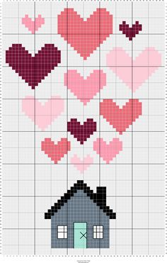 Stitch Fiddle is an online crochet, knitting and cross stitch pattern maker. Cross Stitch House, Cross Stitch Heart, Cross Stitch Pattern Maker, Cross Stitch Patterns, Learn Embroidery, Cross Stitch Embroidery, Disney Crochet Patterns, Mermaid Cross Stitch, Pixel Pattern