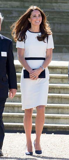 Las mejor vestidas de la semana... Catherine Middleton