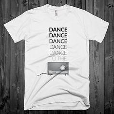 Joy Division - Transmission Lyrics T-Shirt - Ian Curtis - New Order - Post-Punk - Goth - Manchester - Factory Records - Typography - Music