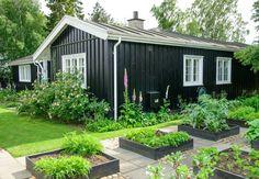 Kom på besøg i Claus Dalbys blomstrende krukkehave Summer House Garden, Home And Garden, Outdoor Spaces, Outdoor Living, Cottage Lounge, Summer House Interiors, Shed Homes, Small House Design, Garden Boxes