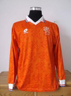Holland Home Football Shirt Jersey (XL) 1994/95 (8)