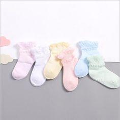 24 Pairs Striped Socks Baby New Born Boy Girl Casual Winter Infantil Baby SlippersAnti Slip Socks Floor Children Socks