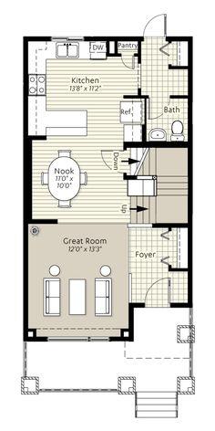 My dream home kendal urban loft by excel on pinterest for Urban floor plans