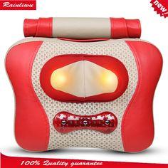 Cervical vertebra massager Body rotating massage pillow Chinese Massage product Deep-sea magnet Heating massage point