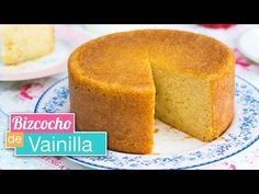 Bizcocho de vainilla ESPONJOSO | Receta FÁCIL | Quiero Cupcakes! - YouTube
