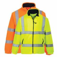 Adjustable Velcro Cuffs 2 Hi Vis Band /& Brace Front Pockets Inspire Me Work Two Tone Bomber Jacket 300D Oxford PU Fabric