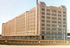 The T Warehouse - anchoring the south end of downtown Fort Worth since 1931. Dressed in Acme Brick.
