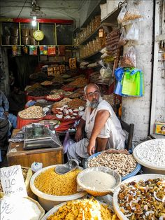 Islamabad Market this was described in chapter 11 this is where people would come to get goods they needed