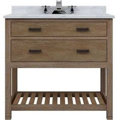 Lovely 36 Inch Vanity Cabinet Only
