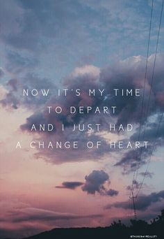 // A Change of Heart - The 1975 // ...I am hooked on this song right now