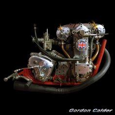 (No. 105 ~ VINTAGE 1938 CROCKER MOTORCYCLE ENGINE, by Gordon Calder, via Flickr…