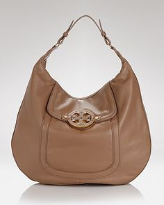 f4783d0596ed Tory Burch Hobo - Amanda Flat Handbags - Hobos   Shoulder Bags -  Bloomingdale s