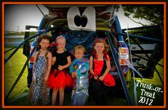 Trunk or Treat Idea!