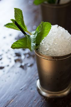 Yum. Mint Julep.