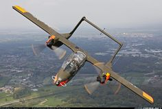 North American Rockwell OV-10B Bronco #aviation #aircraft #warbird #vietnam…