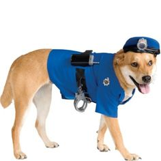 Police Dog Costume - Party City - $16.99 (for Detective Gordon? - don't know if anyone would get it)