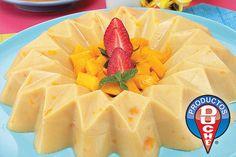 Corcholata de mango (mango jello)