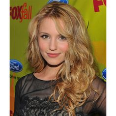 Dianna Agron Hairstyle Images TheHairStyler.com ❤ liked on Polyvore featuring dianna agron, hair and people
