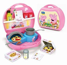 Peppa Pig Mini Pizzeria Playset  Peppa Pig mini Pizzeria. With 2 pizzas and 10 accessories included. Official product. Peppa Pig Mini Pizzeria Playset  http://www.newactionfigures.com/2016/04/06/peppa-pig-mini-pizzeria-playset/