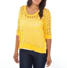 Oversized Crochet Sweater - Must Have Fashions - Events