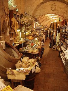 Tuscany shopping