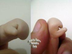 Polymer Clay Babies: TUTORIAL LIVRE DE MÃOS EM POLYMER CLAY