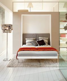 armoire lit design furniture white wall bed - Designer Wall Beds