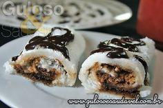 Receita com Tapioca de Coco e Chocolate