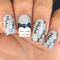 Tokyo Ghoul Nail Art This Is Omggg Nails Pinterest Beautiful Beautiful Nail Art And Manga