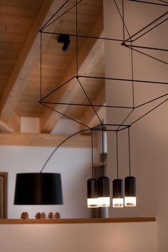 Wireflow chandelier designed by Arik Levy. http://www.vibia.com/en/lamps/show/id/03004/hanging_lamps_wireflow_0300_design_by_arik_levy.html?utm_source=pinterest&utm_medium=organic&utm_campaign=wireflow