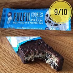 Fulfil cookies & cream v2.0.  I don't really really revisit bars often but I feel it's warranted here I was really impressed when @fulfil_nutrition  Got in touch with me off the back of a negative review I posted on their first version of this bar. I was