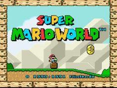 Nintendo - Super Mario World - Jogue online - Clique e veja