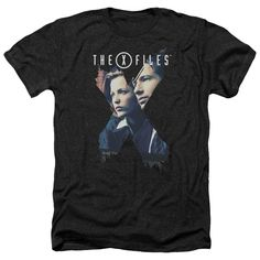 - The X-Files is back - Retro Style - Officially Licensed - Preshrunk - 60% Cotton 40% Polyester - Soft Style