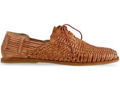 """Huaraches (singular huarache) are a type of Mexican sandal. Huaraches are pre-Columbian in origin, and are made from woven leather. The leather is traditionally hand-woven[1]. The name """"Huarache"""" is derived from the P'urhépecha language term [...]"""