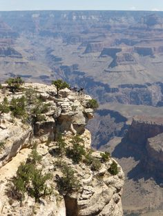 The Grand Canyon - View from the South Rim. (Photo: WendyJames ~ August 2014)