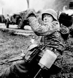 """The Battle of the Bulge (""""Wacht am Rhein"""") was a major German offensivecampaign launched through the densely forested Ardennes region of Wallonia in Belgium, France, and Luxembourg on the Western Front toward the end of World War II in Europe Hiroshima, Nagasaki, German Soldiers Ww2, German Army, Luftwaffe, German Uniforms, Ww2 Uniforms, Man Of War, Total War"""