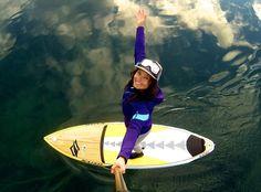 Dejándome llevar!! #GoPRO #PaddleSup #selfie #yosoydeagua