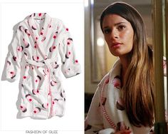 Sorry for the reposts! We hope Tumblr found eating our posts just as delicious as the cupcakes on Rachel's sweet new robe look. PJ Salvage Cupcake Robe in Ivory - $49.00 Worn with:Ryan Ryan necklace