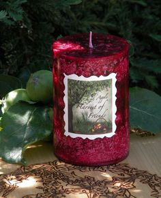 White Magick Alchemy - Harvest of Friends Lughnasadh Mabon Ritual Candle . Tree Ripened Red Apples, Granny Smith Apples Nestled in Oak Leaves and Moss, $9.95 (http://www.whitemagickalchemy.com/harvest-of-friends-lughnasadh-mabon-ritual-candle-tree-ripened-red-apples-granny-smith-apples-nestled-in-oak-leaves-and-moss/)