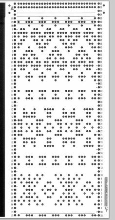 Knitmaster/Silver Reed Fine gauge knitting machine 30 sts punch card - No F14