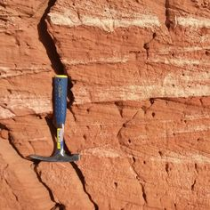Cross bedding in the #Cretaceous  #dinosaur bearing beds of the Kem kem #Morocco