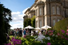 Summer drinks on the South Lawns