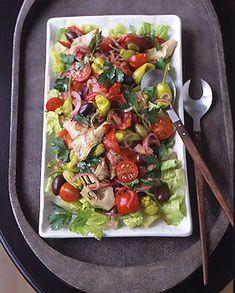 Antipasto Salad by Gourmet via epicurious #Antipasto #Salad