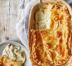 There's nothing nicer than a warming chicken pie with crisp, golden-brown puff pastry and creamy, rich sauce