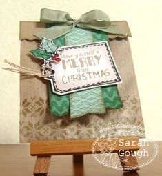 There She Goes Clear Stamps: Merry Little Christmas
