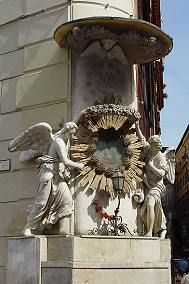 A beautiful madonnelle (small Madonna) shrine facing the Trevi Fountain.
