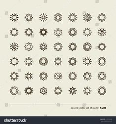 Find Set Icons Sun Vector stock images in HD and millions of other royalty-free stock photos, illustrations and vectors in the Shutterstock collection. Thousands of new, high-quality pictures added every day. Sunshine Tattoo Small, Tiny Sun Tattoo, Simple Sun Tattoo, Smal Tattoo, Small Sun Tattoos, Tattoo Sun, Sunshine Tattoos, Light Tattoo, Mini Tattoos