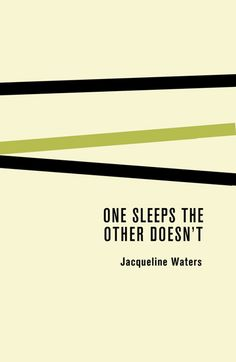 UDP - J Waters book #minimalism #books #design #cover